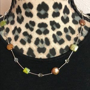 Brown / Green necklace